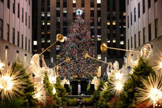 Rockefeller Christmas tree