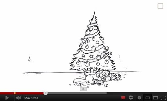 Simon's Cat_Santa